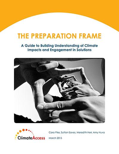ClimateAccess the preparation frame