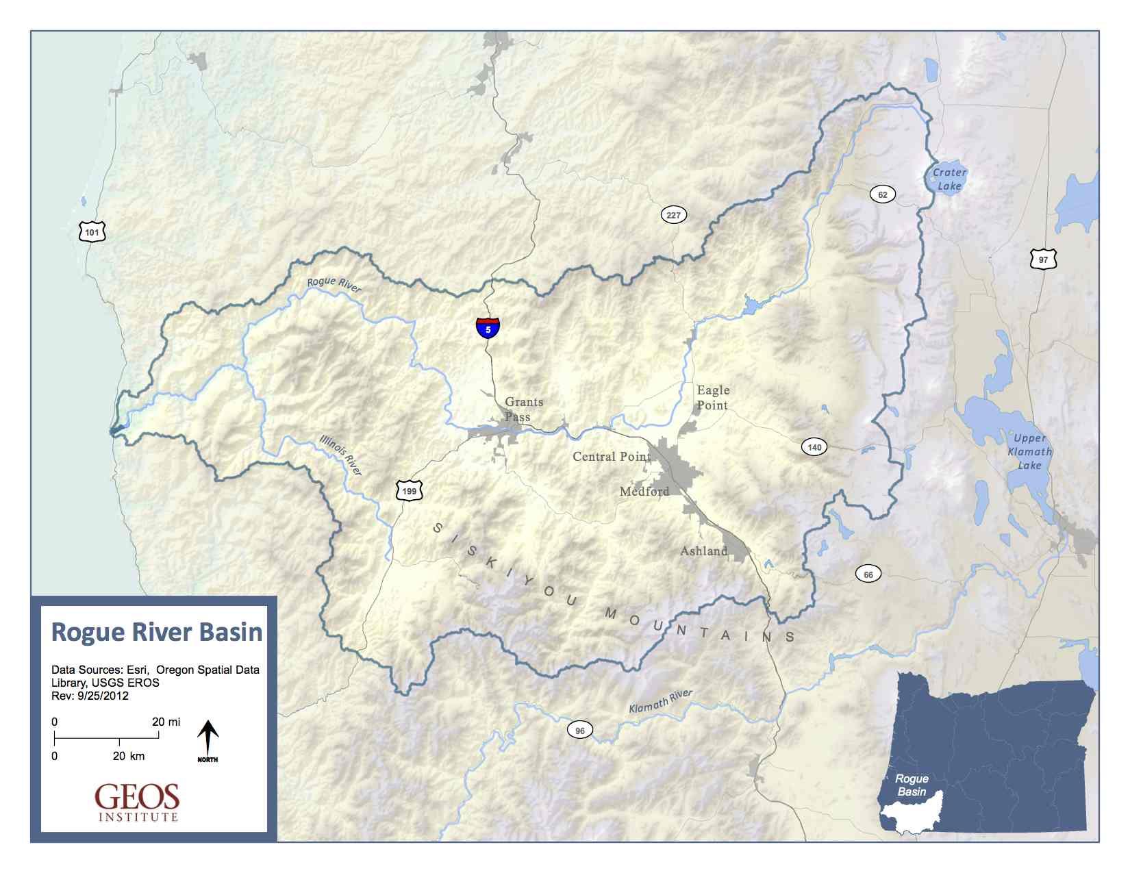 rogue basin map