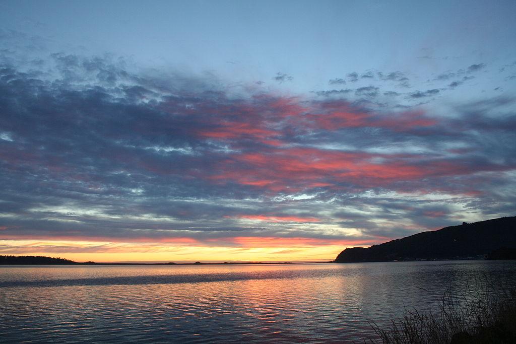 Bay City Oregon sunset Credit Aaron Zahrowski