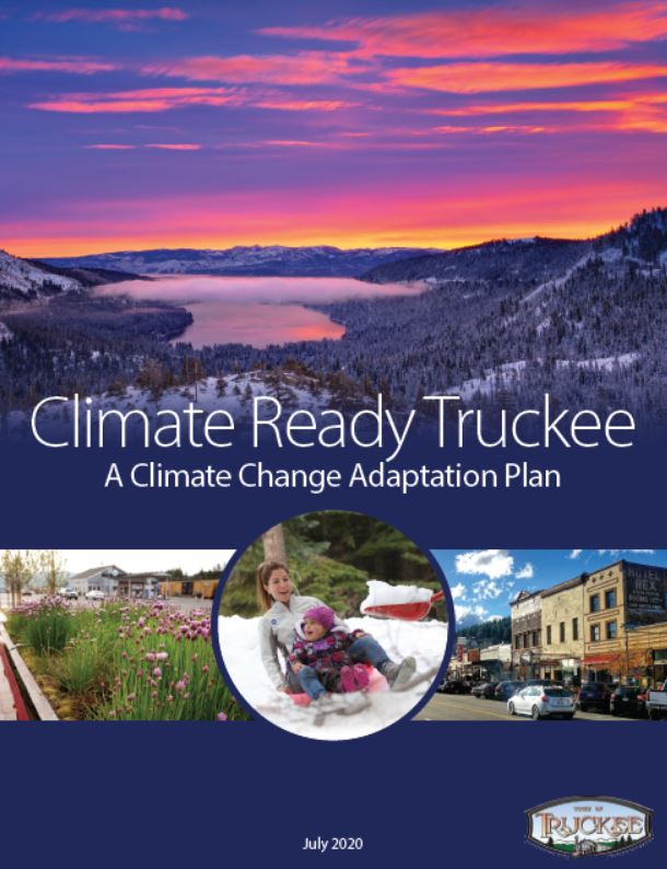 truckee climate adaptation plan cover