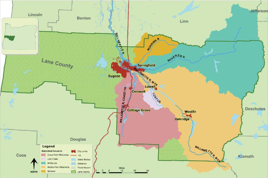 upper willamette map